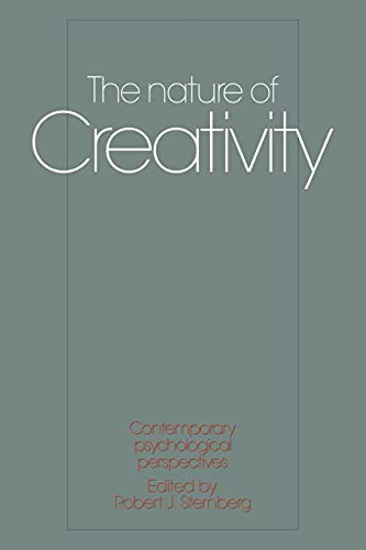 9780521338929: The Nature of Creativity: Contemporary Psychological Perspectives
