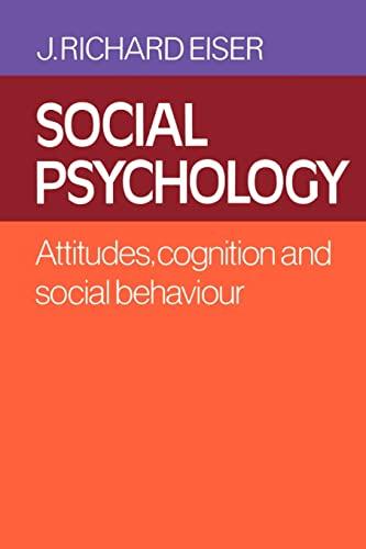 9780521339346: Social Psychology Paperback: Attitudes, Cognition and Social Behaviour