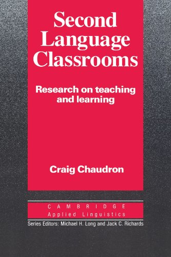 9780521339803: Second Language Classrooms: Research on Teaching and Learning (Cambridge Applied Linguistics)