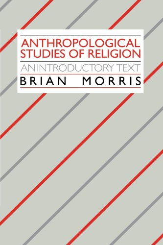 9780521339919: Anthropological Studies of Religion: An Introductory Text