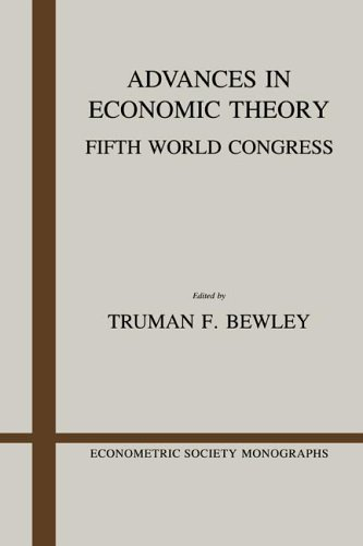 9780521340441: Advances in Economic Theory: Fifth World Congress (Econometric Society Monographs)