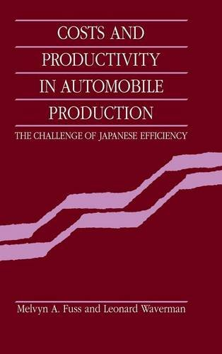 9780521341417: Costs and Productivity in Automobile Production: The Challenge of Japanese Efficiency