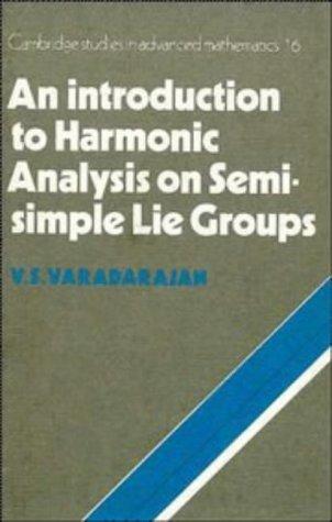 9780521341561: An Introduction to Harmonic Analysis on Semisimple Lie Groups (Cambridge Studies in Advanced Mathematics)