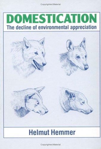 9780521341783: Domestication: The Decline of Environmental Appreciation