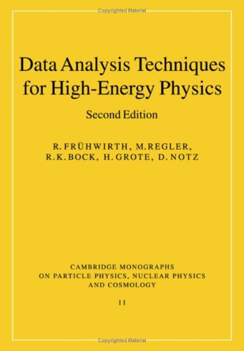 9780521341950: Data Analysis Techniques for High-Energy Physics Experiments