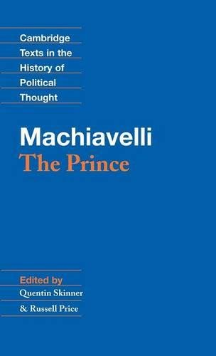 9780521342407: Machiavelli: The Prince Hardback (Cambridge Texts in the History of Political Thought)