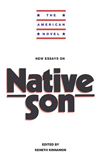 9780521343190: New Essays on Native Son (The American Novel)