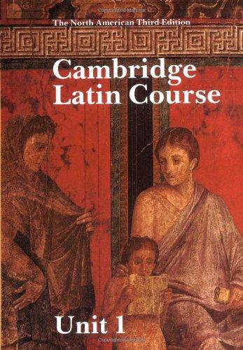 9780521343794: Cambridge Latin Course Unit 1 Student's book North American edition (North American Cambridge Latin Course)