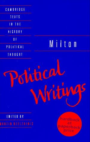 Political Writings: Milton, John