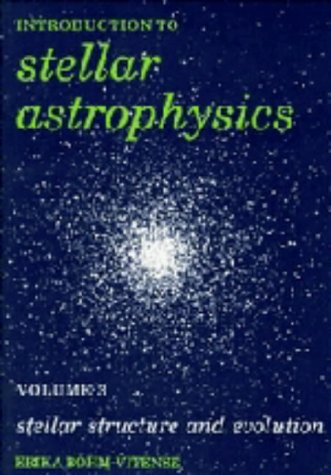 9780521344043: Introduction to Stellar Astrophysics: Volume 3