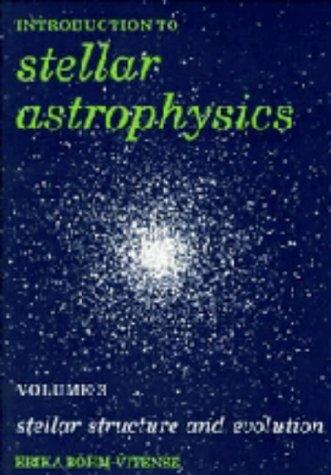 9780521344043: 003: Introduction to Stellar Astrophysics: Volume 3