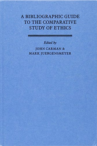9780521344487: A Bibliographic Guide to the Comparative Study of Ethics