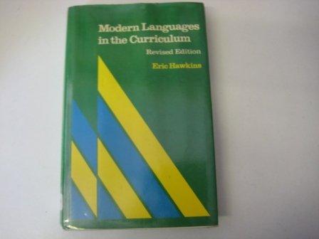 Modern Languages in the Curriculum: Hawkins, Eric