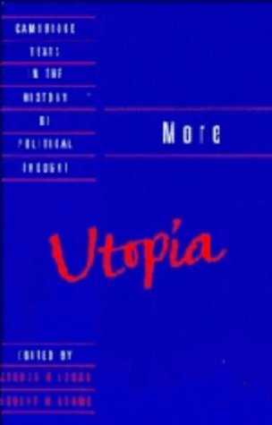 9780521345736: More: Utopia (Cambridge Texts in the History of Political Thought)
