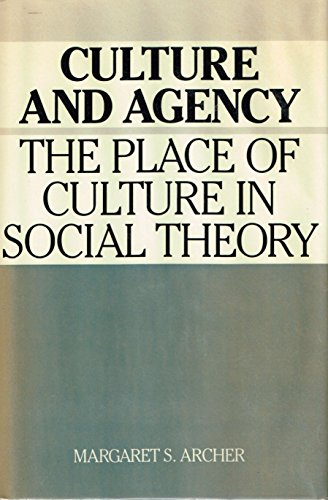 9780521346238: Culture and Agency