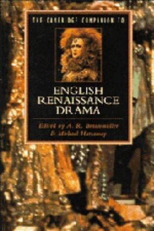 9780521346573: The Cambridge Companion to English Renaissance Drama (Cambridge Companions to Literature)