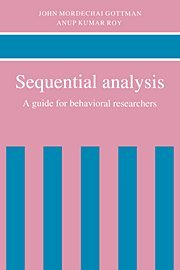 9780521346658: Sequential Analysis Hardback: A Guide for Behavorial Researchers