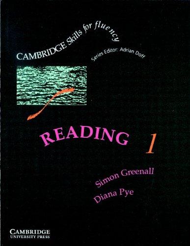 9780521346719: Reading 1 Student's book: Pre-intermediate: Pre-intermediate Level 1 (Cambridge Skills for Fluency)