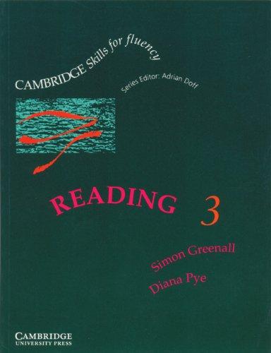 9780521346733: Reading 3 Student's book: Upper-intermediate: Upper-intermediate Level 3 (Cambridge Skills for Fluency)