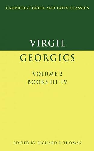 9780521346788: Virgil: Georgics: Volume 2, Books III-IV: 002