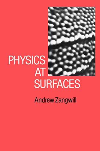 9780521347525: Physics at Surfaces Paperback