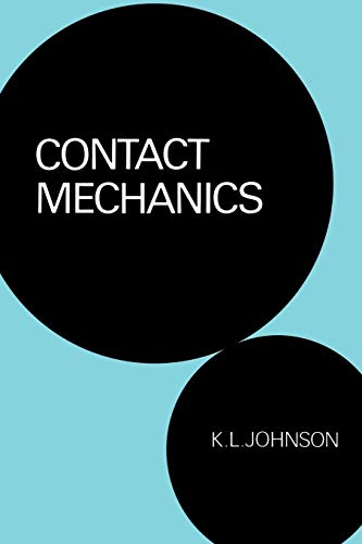Contact Mechanics 9780521347969 This treatise is concerned with the stresses and deformation of solid bodies in contact with each other, along curved surfaces which touch initially at a point or along a line. Examples are a railway wheel and rail, or a pair of gear wheel teeth. Professor Johnson first reviews the development of the theory of contact stresses since the problem was originally addressed by H. Hertz in 1882. Next he discusses the influence of friction and the topographical roughness of surfaces, and this is incorporated into the theory of contact mechanics. An important feature is the treatment of bodies which deform plastically or viscoelastically. In addition to stationary contact, an appreciable section of the book is concerned with bodies which are in sliding or rolling contact, or which collide.
