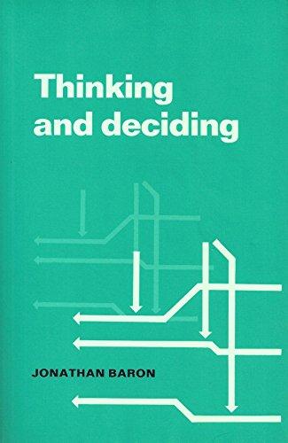 9780521348003: Thinking and Deciding