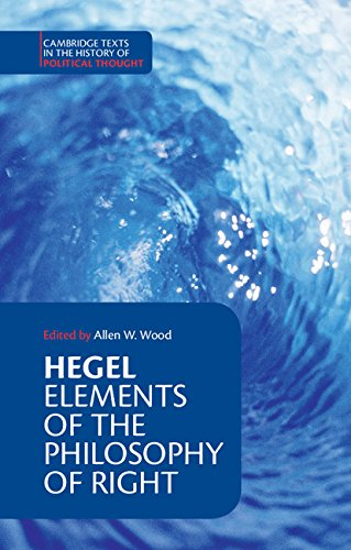 9780521348881: Hegel: Elements of the Philosophy of Right Paperback (Cambridge Texts in the History of Political Thought)
