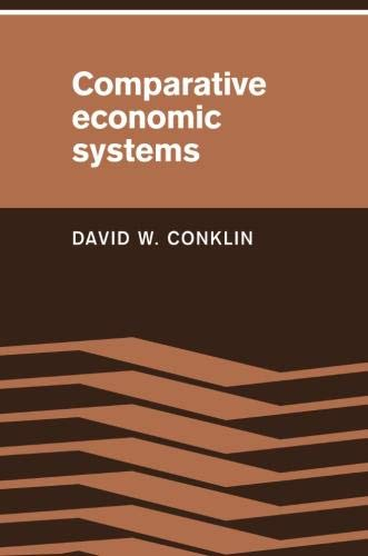 9780521348898: Comparative Economic Systems: Objectives, Decision Modes, and the Process of Choice