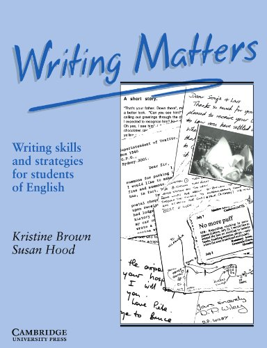 9780521348959: Writing Matters: Writing Skills and Strategies for Students of English