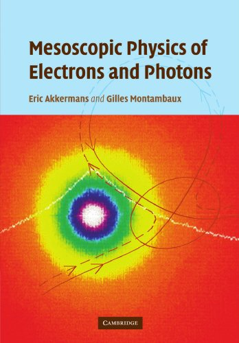 9780521349475: Mesoscopic Physics of Electrons and Photons