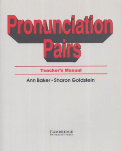 9780521349734: Pronunciation Pairs Teacher's book: An Introductory Course for Students of English
