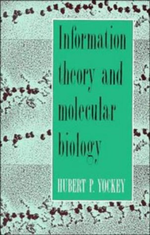 9780521350051: Information Theory and Molecular Biology