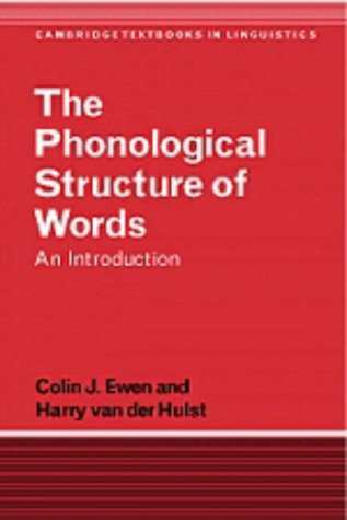 9780521350198: The Phonological Structure of Words: An Introduction (Cambridge Textbooks in Linguistics)