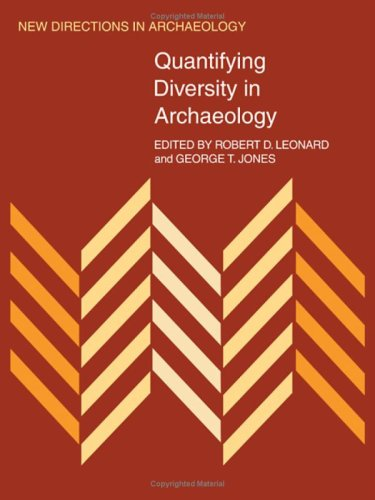 9780521350303: Quantifying Diversity in Archaeology (New Directions in Archaeology)