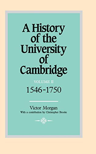 9780521350594: 002: A History of the University of Cambridge: Volume 2, 1546-1750