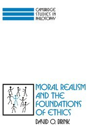 9780521350808: Moral Realism and the Foundations of Ethics (Cambridge Studies in Philosophy)