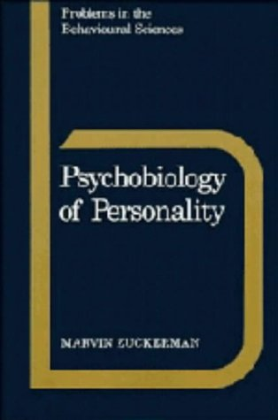 9780521350952: Psychobiology of Personality