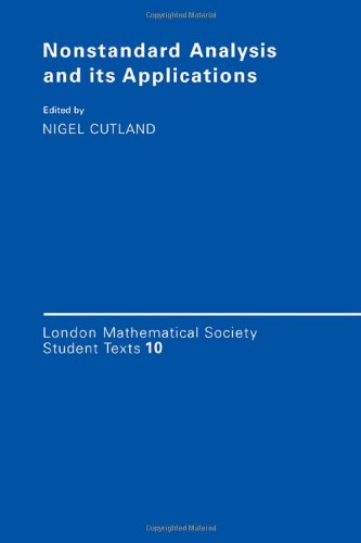 9780521351096: Nonstandard Analysis and its Applications (London Mathematical Society Student Texts)