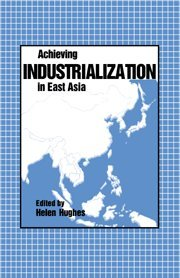 9780521351294: Achieving Industrialization in East Asia (Trade and Development)