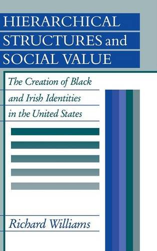 9780521351478: Hierarchical Structures and Social Value: The Creation of Black and Irish Identities in the United States