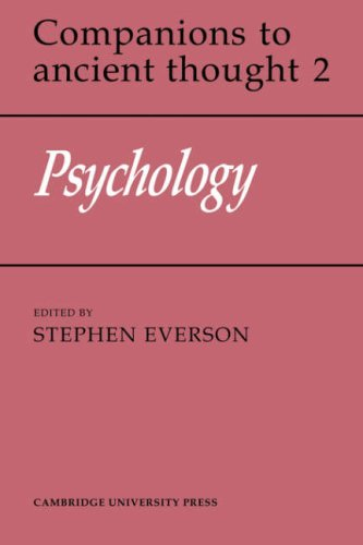 9780521353380: Psychology (Companions to Ancient Thought)