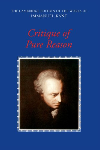 9780521354028: Critique of Pure Reason (The Cambridge Edition of the Works of Immanuel Kant)