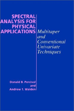 9780521355322: Spectral Analysis for Physical Applications