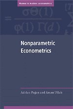 9780521355643: Nonparametric Econometrics (Themes in Modern Econometrics)