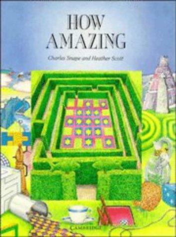 9780521356725: How Amazing (Cambridge Primary Mathematics)