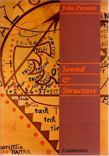 9780521356763: Sound and Structure (Resources of Music Handbooks)