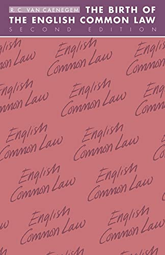 9780521356824: The Birth of the English Common Law (Cambridge Paperback Library)