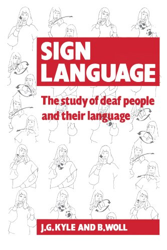 9780521357173: Sign Language: The Study of Deaf People and their Language