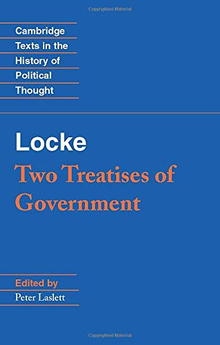 9780521357302: Locke: Two Treatises of Government Student edition Paperback (Cambridge Texts in the History of Political Thought)